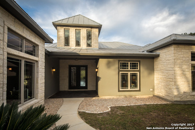 New Braunfels Single Family Home For Sale: 107 Sun River