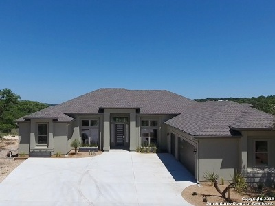 New Braunfels Single Family Home For Sale: 1006 Firenze