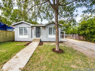 San Antonio Single Family Home For Sale: 323 Colleen Dr