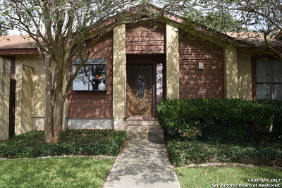 San Antonio Single Family Home Back on Market: 16200 Avenida Del Luna