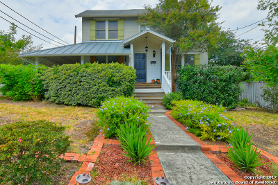 Alamo Heights Single Family Home For Sale: 301 Montclair St