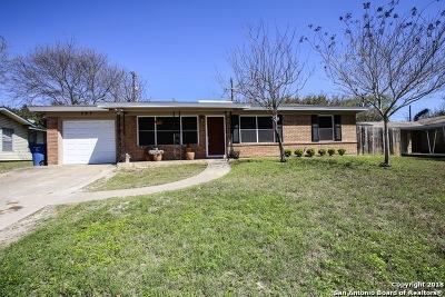 San Antonio Single Family Home Back on Market: 727 Inspiration Dr