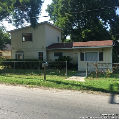 San Antonio Single Family Home Back on Market: 2322 Aransas Ave