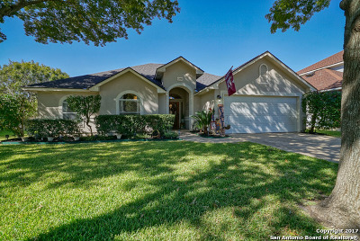 Helotes Single Family Home For Sale: 12815 Aqua Valley