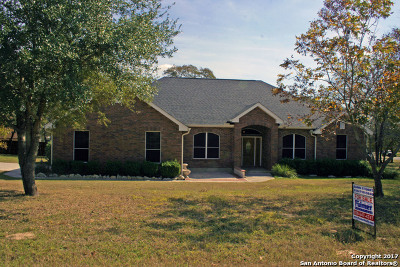 La Vernia Single Family Home For Sale: 1205 Country View Dr