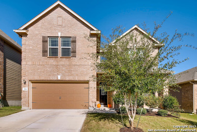 Cibolo Single Family Home For Sale: 116 Tranquil Vw