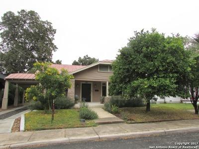 San Antonio Single Family Home Back on Market: 606 E Myrtle St