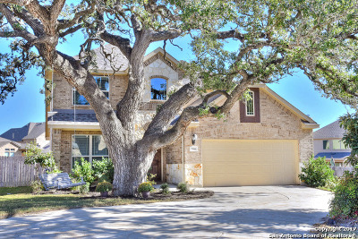 Boerne Single Family Home Price Change: 7906 Ashfield Way