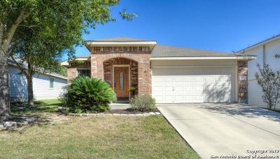 Cibolo Single Family Home Price Change: 124 Harness Ln