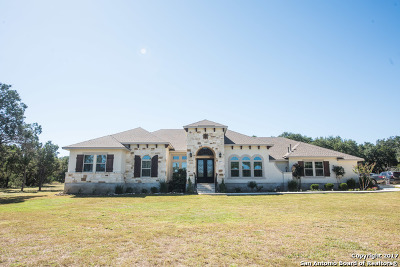 New Braunfels Single Family Home For Sale: 25923 Kalksteine Loop