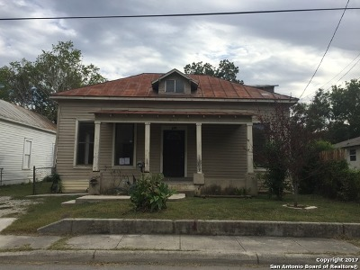 San Antonio Single Family Home For Sale: 234 Stonewall St