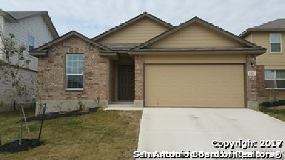 Bexar County Single Family Home For Sale: 1423 Scent Of Basil