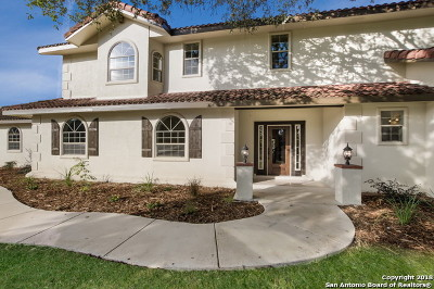 Fair Oaks Ranch Single Family Home Price Change: 8450 Raintree Woods Dr