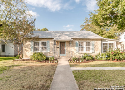 San Antonio Single Family Home Back on Market: 279 Thorain Blvd