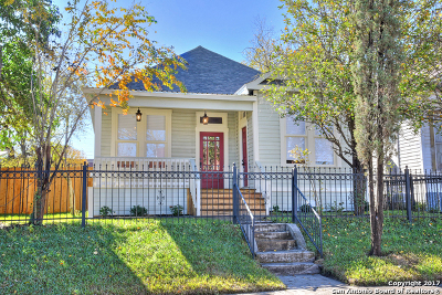 San Antonio Single Family Home For Sale: 1106 Dawson St