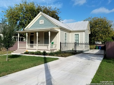 San Antonio Single Family Home For Sale: 1005 Hays St