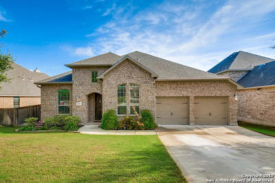 San Antonio TX Single Family Home Price Change: $398,000