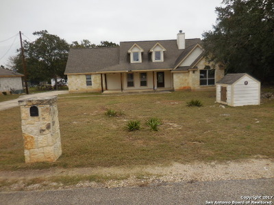 Bexar County, Comal County, Guadalupe County Single Family Home For Sale: 1251 Misty Lane
