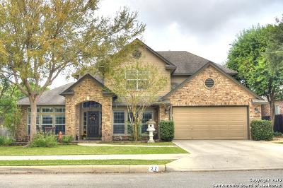 New Braunfels Single Family Home Back on Market: 27 Oak Blf