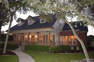 New Braunfels Single Family Home For Sale: 111 Pinnacle Pkwy