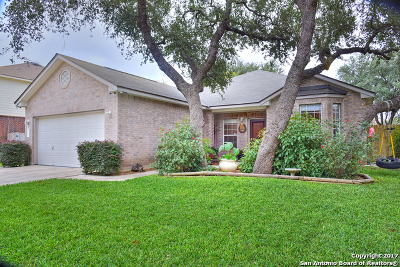 Helotes Single Family Home Price Change: 9522 Aqua Verde