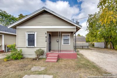 San Antonio Single Family Home Back on Market: 819 Culebra Rd