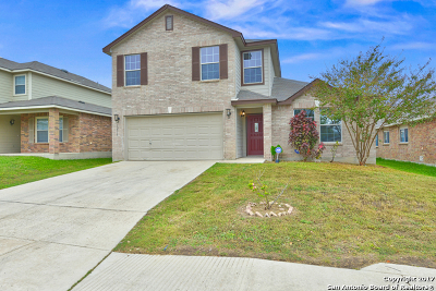 Bexar County Single Family Home Price Change: 12719 Scarlet Sage