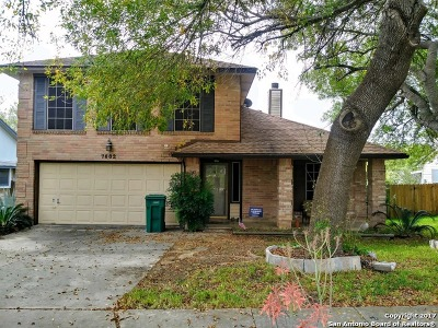 Bexar County Single Family Home Back on Market: 7602 Forest Fern