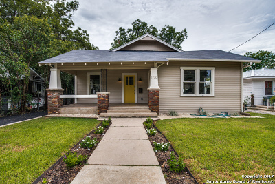 San Antonio Single Family Home New: 1730 W Woodlawn Ave