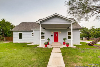 Bexar County Single Family Home For Sale: 166 W Mariposa Dr
