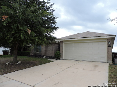 Converse Single Family Home Back on Market: 8807 Trumpet Cir