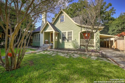 San Antonio Single Family Home New: 807 E Magnolia Ave