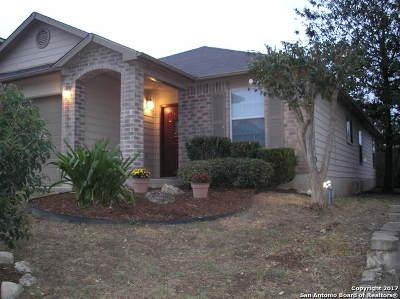 Converse Single Family Home New: 9710 Falcon Bay