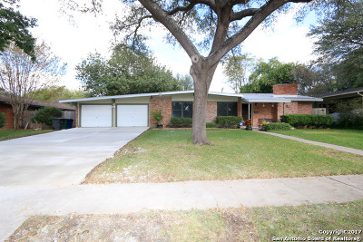 San Antonio Single Family Home For Sale: 343 Sandalwood Ln