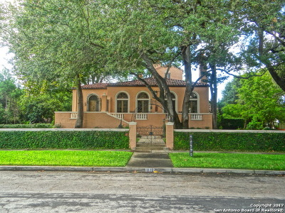 San Antonio Single Family Home For Sale: 112 E Lynwood Ave