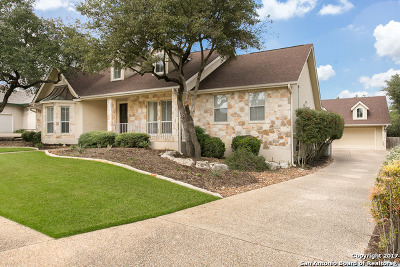 San Antonio Single Family Home Price Change: 18326 Emerald Forest Dr