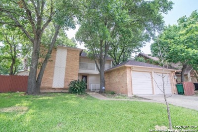 San Antonio Single Family Home Back on Market: 13319 Stairock St