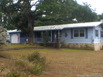 Canyon Lake Single Family Home New: 1237 Canyon Shrs