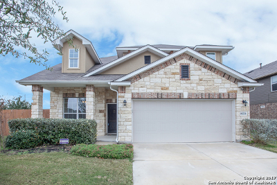 Schertz Single Family Home New: 10236 Colonel Rdg
