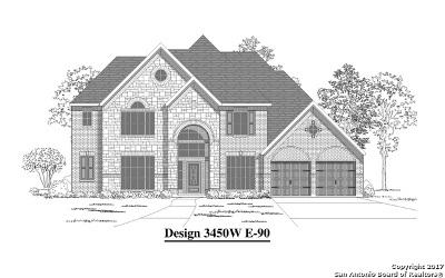 San Antonio Single Family Home New: 25423 Leafy Elm