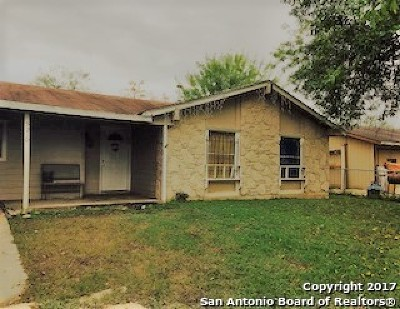 San Antonio Single Family Home New: 5210 Gray Buffalo St