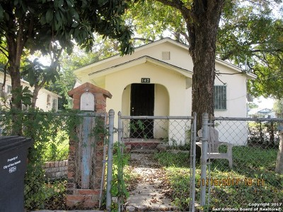 San Antonio Single Family Home New: 142 Arizona