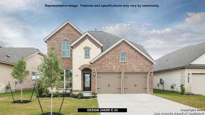 Seguin Single Family Home For Sale: 2928 Coral Way