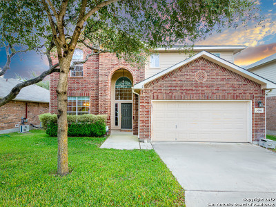 San Antonio Single Family Home Price Change: 3646 Cotoneaster
