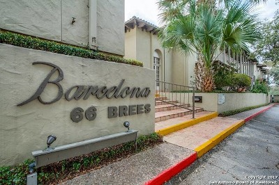 Bexar County Condo/Townhouse New: 66 Brees Blvd #22