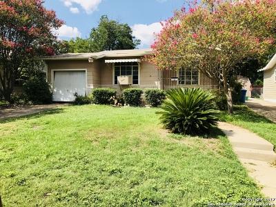 San Antonio Single Family Home New: 215 Golden Crown Dr
