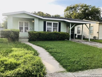 San Antonio Single Family Home New: 211 Highway Dr
