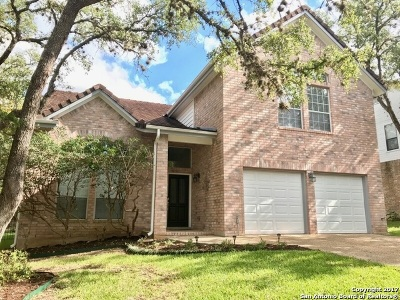 San Antonio Single Family Home New: 16310 Sacre Couer