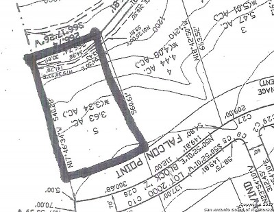 Boerne Residential Lots & Land New: Lot 5 Falcon Pt