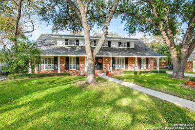 San Antonio Single Family Home New: 7514 Huntleigh Ln